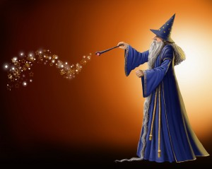 Magical Wizard Illustration